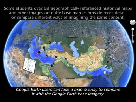 mostern teaching silk road history with google earth mov youtube