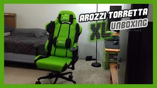 arozzi Torretta Green XL  Gaming Chair Unboxing