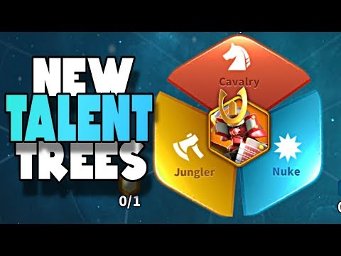 NEW Talent Trees Released | Rise of Civilizations
