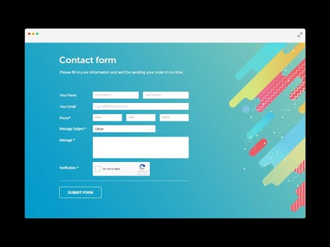 How To Create Php Contact Form | How To Send Mail Using Php | Contact Us Form Php Mail