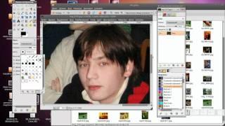 Третий пробный урок по GIMP