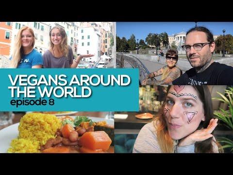 Vegans Around the World: Vegan Travel to Italy, Ukraine, and England