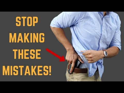 3 Concealed Carry Mistakes You Are Making