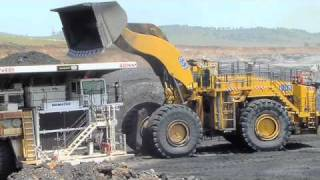 Repeat youtube video LeTourneau L-1850 Loader in Australia (L-1850)