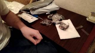 Вакуумные наушники, гарнитура 3 5 мм для мобильного телефона  Обзор распаковки новой посылки с Aliex