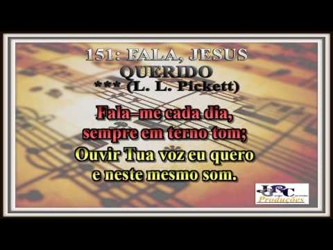 151   Fala, Jesus Querido Karaoke/playback