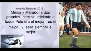 100  Argentinian footballers praise Pelé (Maradona, Messi, Riquelme, Palermo...)