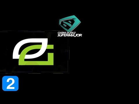 OpTic Gaming vs VGJ Storm Game 2 CHINA DOTA2 SUPER MAJOR Highlights Dota 2