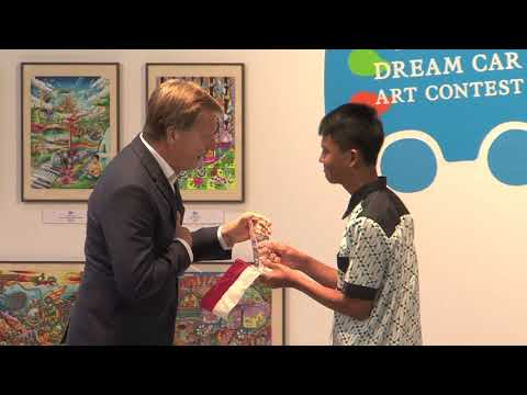 Toyota Holds 11th Dream Car Art Contest Awards Ceremony