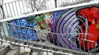 Przejście podziemne Wyścigi-Graffiti Warszawa 2013