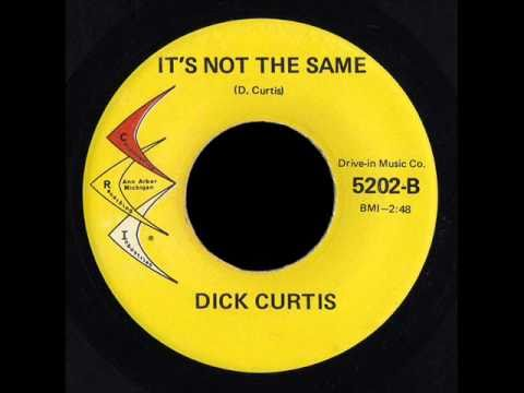 Dick Curtis.It's not the same