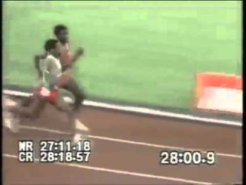 Runner Smacks Another Track Star On The Back Of His Head During Olympic Race!