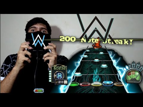 [Guitar hero 3] Faded (Slushii Remix)(Guitar Remix) -