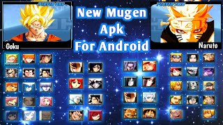 DOWNLOAD New Anime Mugen Apk For Android || Bleach Vs Naruto New Update Goku
