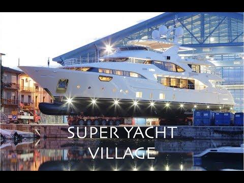 Super Yacht Village Tour (Captain's Vlog 44)