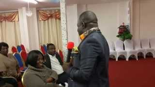 APOSTLE BISMARK OSEI AKOMEAH COLUMBUS  USA @ VICTORY CHRISTIAN CENTRE AOG LONDON - REVIVAL  DAY 2