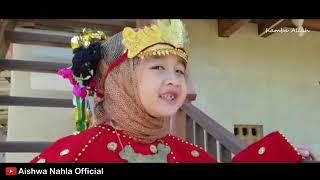 Lucu dan imut adk Aishwa Nahla nyanyi