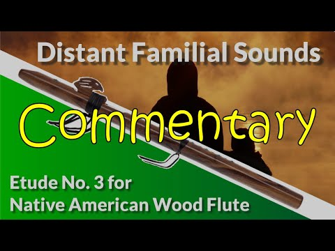 Native American Flute Etude No. 3 - Distant Familial Sounds - Full Commentary