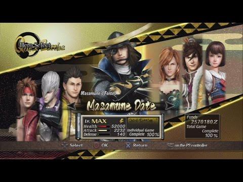 Sengoku Basara: Samurai Heroes All Characters [PS3]