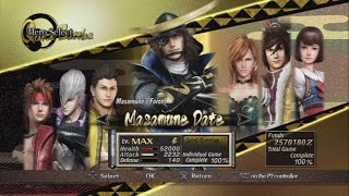 Video Sengoku Basara: Samurai Heroes All Characters [PS3] download MP3, 3GP, MP4, WEBM, AVI, FLV Oktober 2018