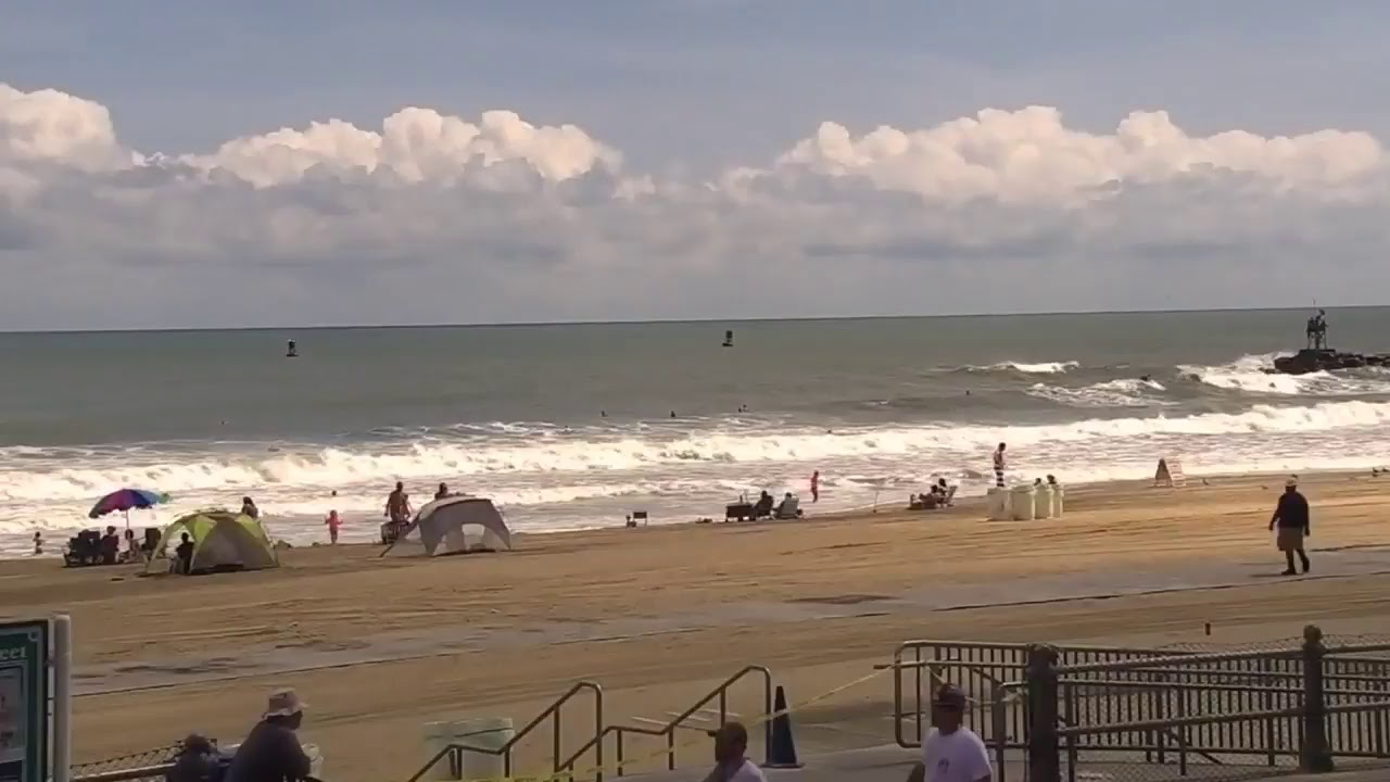 Archived View At St Street In Virginia Beach Check Out The Surf Cam At Virginia Beach Surf