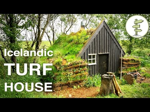 Beautiful Tiny Turf Houses in Iceland - Full Tour & Interview
