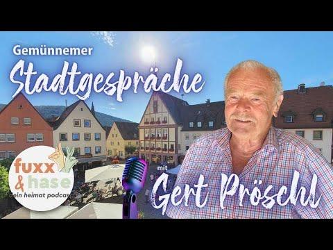 GEMÜNNEMER STADTGESPRÄCHE 01 GERT PRÖSCHL