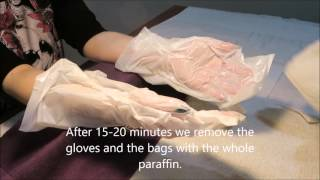 How to do paraffin wax treatment tutorial
