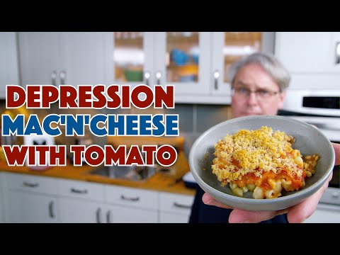 1939 Macaroni and Cheese With Tomato || Glen & Friends Cooking