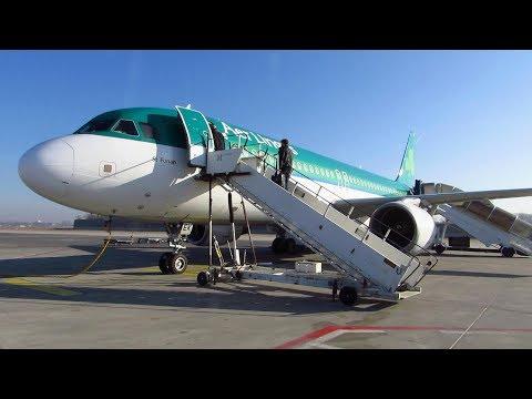 TRIP REPORT | Aer Lingus (Economy Class) | Berlin TXL To Dublin | Airbus A320 [Full HD]