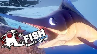 Feed and Grow Fish Gameplay German - Der Fisch mit dem Schwert