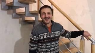 як зробити поворотні сходи