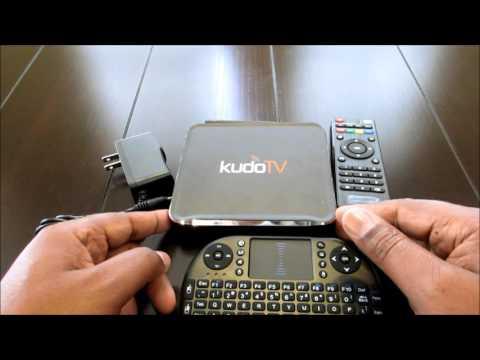 KudoTV KD1 Plus Android TV Box S812 Quad Core