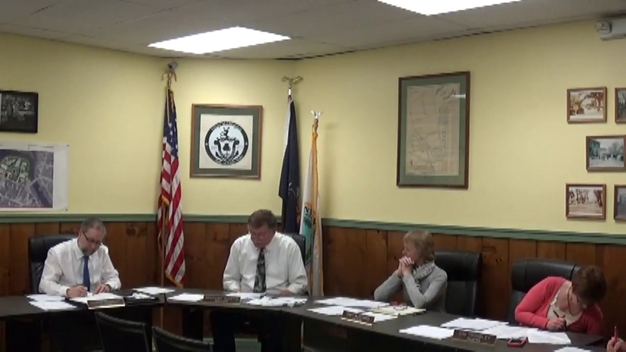 Champlain Village Board Meeting  3-12-18