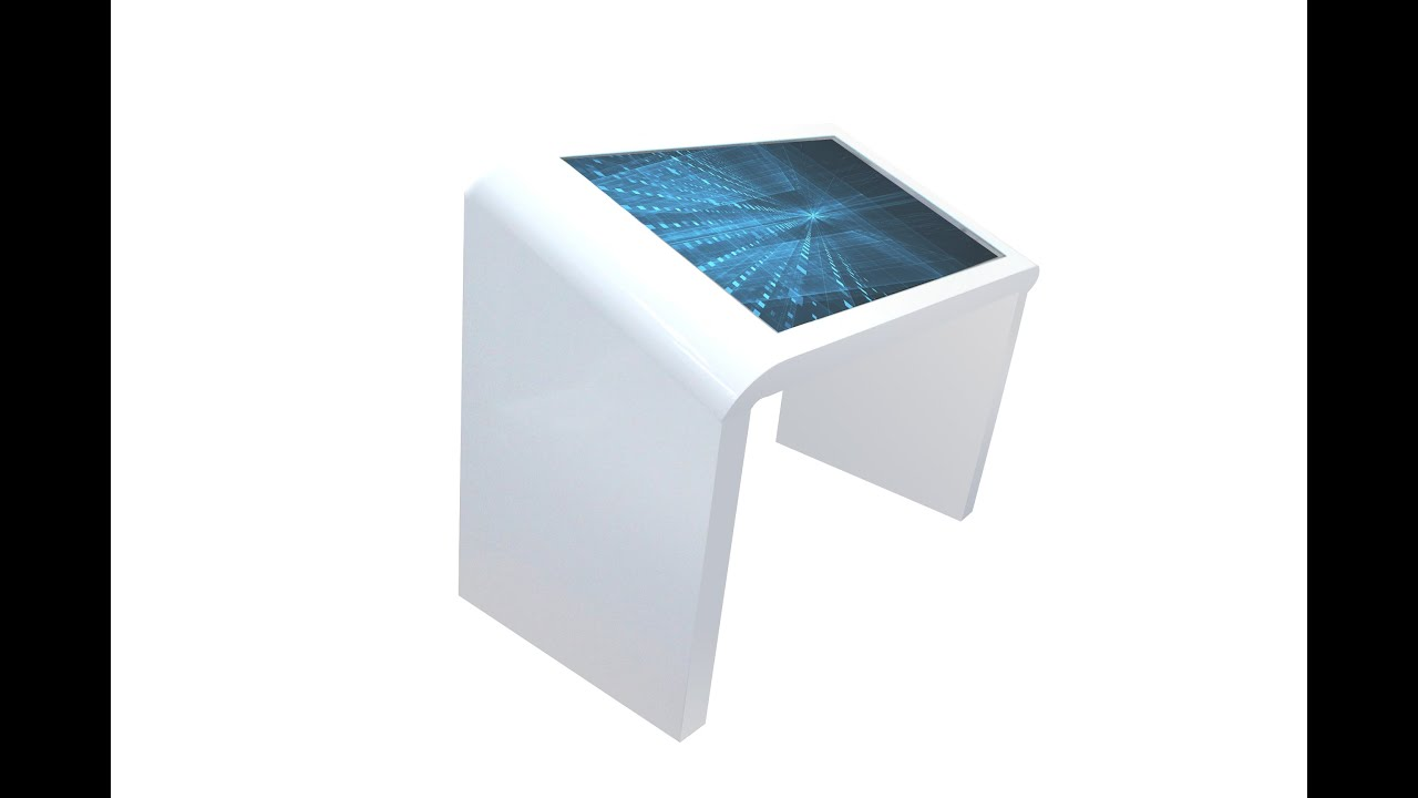 Marvel Multipoint Smart Touch Screen Table With 30 Degrees Slope