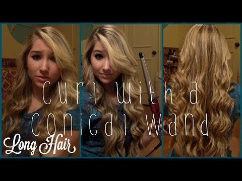 How To Curl With Conair Conical Wand