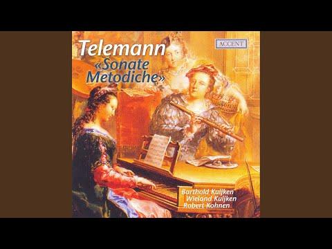 6 Sonate metodiche: Sonata No. 6 in G Major, TWV 41:G4: II. Vivace
