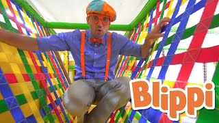 Blippi Visits an Indoor Playground | Educational Videos for Toddlers