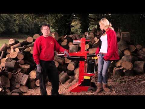 Video Der Holzspalter - Rentas Werkzeugvermietung