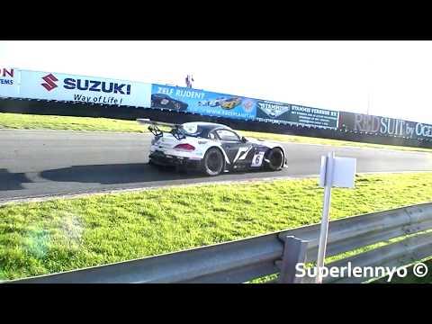 Bmw Z4 Gt3 Racing Car Sound Youtube