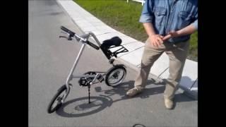 Мотовелосипед Комета с 4 тактным мотором Макита(На велосипед Стрида установлен новый односильный мотор Макита 4-х тактный. Общий вес мотовелосипеда 15.5 кг., 2016-05-23T11:22:06.000Z)