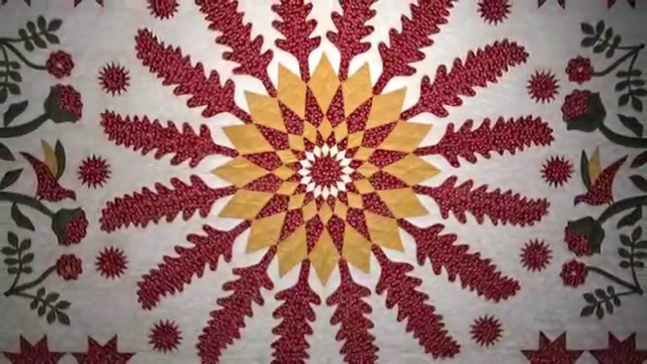 Smithsonian National Quilt Collection An Overview Youtube