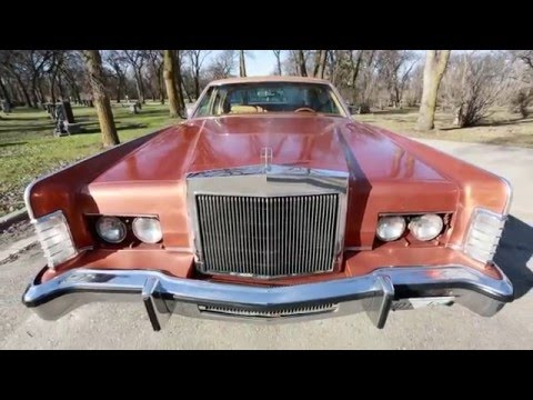 1977 Lincoln Continental Town Car - SOLD