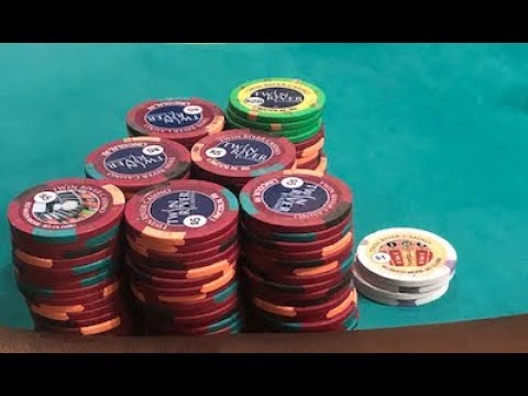 Pocket Pairs Galore Twin River Casino 1 2 Nlh Youtube