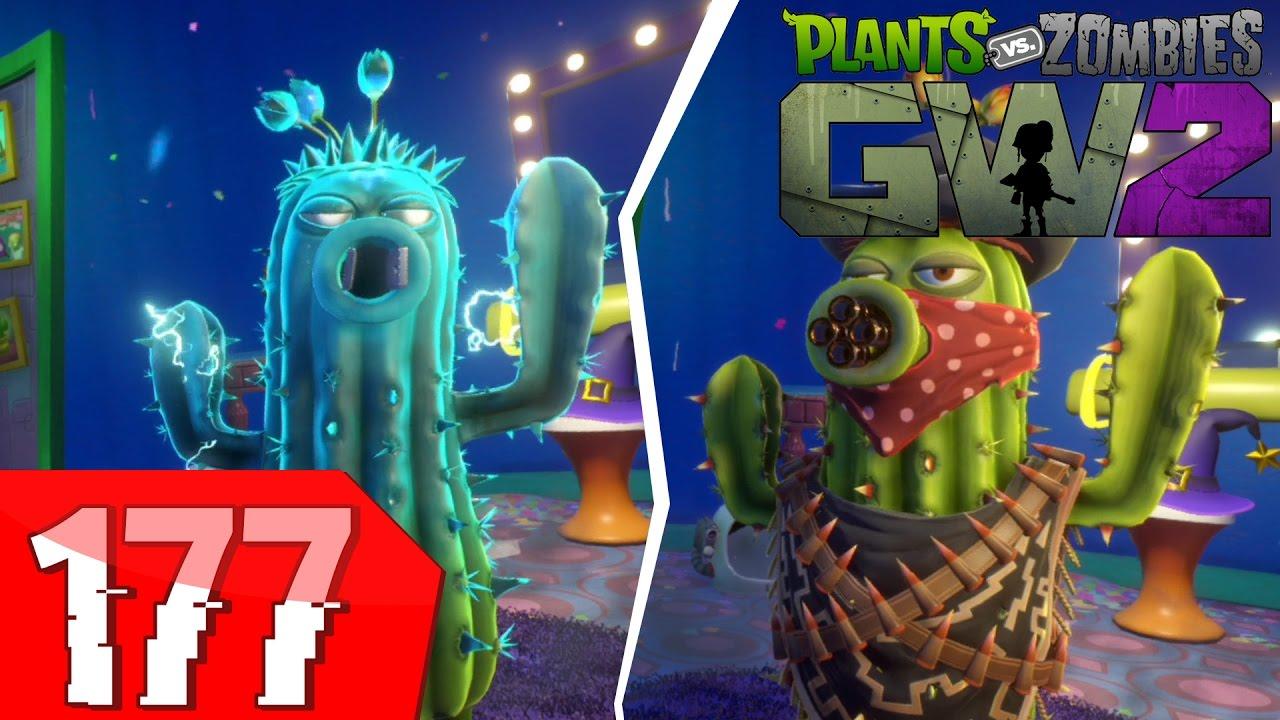 Plants Vs Zombies Garden Warfare 2   Power Cactus + Bandit Cactus! [177]