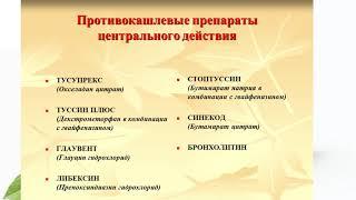 тусупрекс в лечении кашля/ как выбрать препарат