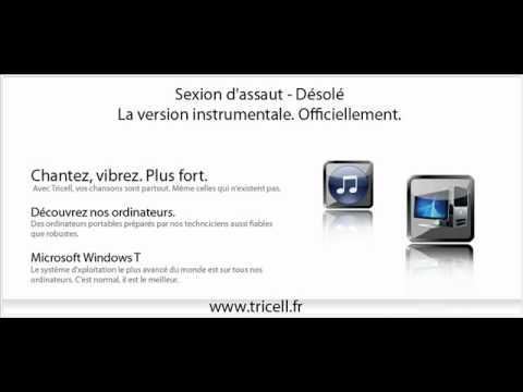 Sexion d'assaut - Désolé (Official instrumental) (version instrumentale officielle)