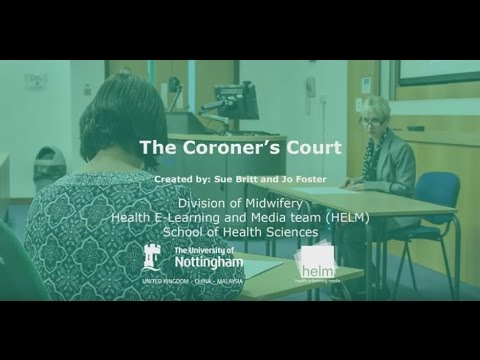 The Coroner's Court: A Midwifery Learning Resource