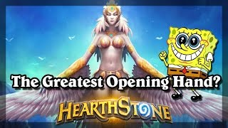 Hearthstone - The Greatest Opening Hand?