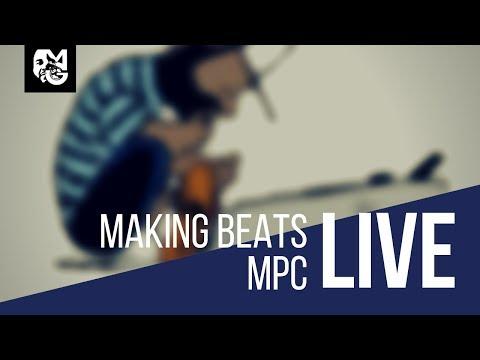 Live Stream   Akai MPC Live   Making Hip Hop With MPC